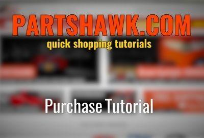 HOW TO COMPLETE A PURCHASE | PARTSHAWK