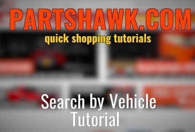 How to Navigate Search By Vehicle | Partshawk