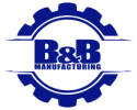 B&B Manufacturing Logo Small Timing Belt Pulleys and Timing Belts