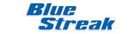 Blue Streak Brand Logo Vector Small  Automotive Computers and Mass Airflow Sensors