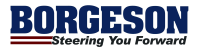 Borgeson Logo Small Steering Boxes, Shafts, U-Joints and Kits