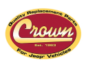 Crown Automotive Logo Small Jeep Replacement