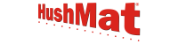 Hushmat Performance Brand Logo Vector Small Sound Dampening, Vibration, and Deadening