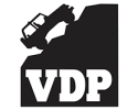 VDP Brand Logo Vector Small Accessories for Jeep, Truck, UTV, and ATV