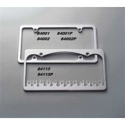 All Sales 84002P License Plate Frame
