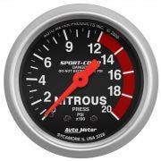 AutoMeter 3328 Nitrous Oxide Pressure Gauge
