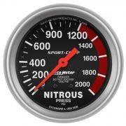 AutoMeter 3428 Nitrous Oxide Pressure Gauge