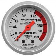 AutoMeter 4328 Nitrous Oxide Pressure Gauge