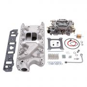 Edelbrock 2031 Engine Intake Manifold / Carburetor Kit