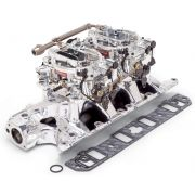 Edelbrock 20354 Engine Intake Manifold / Carburetor Kit