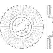 C-Tek 121.39054 Disc Brake Rotor