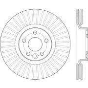 C-Tek 121.39056 Disc Brake Rotor