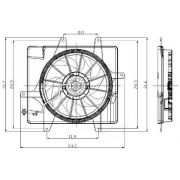 Global Air 2811502 Engine Cooling Fan Assembly