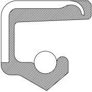 National Bearings 6859S Steering Gear Sector Shaft Seal