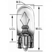 Wagner BP158 Instrument Panel Light Bulb