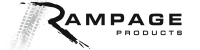 Rampage Brand Logo Vector Small Jeep Wrangler JK Aftermarket Parts and Exterior Accessories